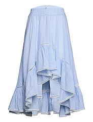 Avery skirt - BLUE CHECKER