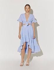 By Malina - Avery skirt - blue checker - 0