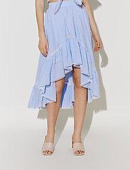 By Malina - Avery skirt - blue checker - 4