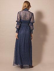 By Malina - Silvie dress - aftonklänningar - indigo blue - 4