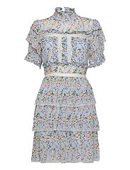 Harlow dress - FRENCH ROSE SKY BLUE