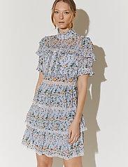 By Malina - Harlow dress - cocktailklänningar - french rose sky blue - 6