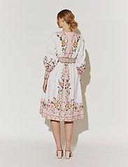 By Malina - Caily dress - midiklänningar - french rose pale pink - 3