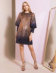 By Malina - Rubina dress - festklänningar - shaded blue - 0