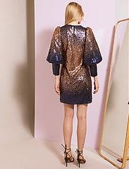 By Malina - Rubina dress - festklänningar - shaded blue - 3