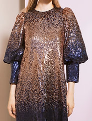 By Malina - Rubina dress - festklänningar - shaded blue - 4