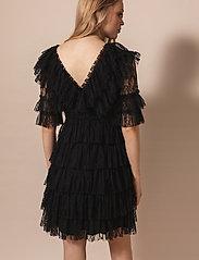 By Malina - Sky dress - spetsklänningar - black - 3