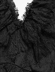 By Malina - Sky dress - spetsklänningar - black - 4