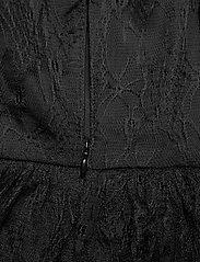 By Malina - Sky dress - spetsklänningar - black - 5