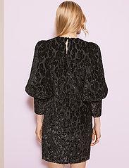 By Malina - Rubina velvet dress - cocktailklänningar - black sparkle - 3