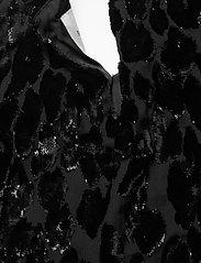 By Malina - Rubina velvet dress - cocktailklänningar - black sparkle - 5