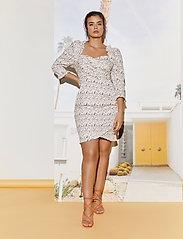By Malina - Rosie dress - sommarklänningar - french rose white - 0