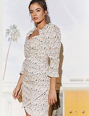 By Malina - Rosie dress - sommarklänningar - french rose white - 3