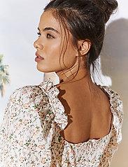 By Malina - Rosie dress - sommarklänningar - french rose white - 5