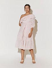 By Malina - Clementine dress - sommarklänningar - pale pink - 0