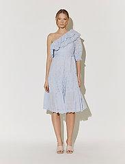 By Malina - Clementine dress - sommarklänningar - sky blue - 0