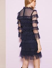By Malina - Carmine dotted dress - cocktailklänningar - deep blue - 3