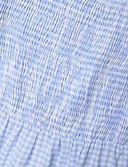 By Malina - Eloise dress - sommarklänningar - blue checker - 4