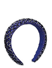 Dixie embellished headband - DEEP BLUE