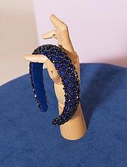 By Malina - Dixie embellished headband - haar accessoires - deep blue - 4