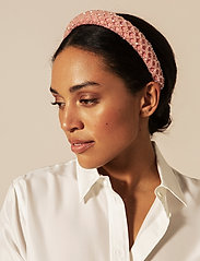 By Malina - Dixie embellished headband - accessories - pink - 0