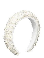 Coco pearl headband - IVORY
