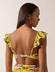 By Malina - Maya bikini top - góry strojów kąpielowych - electric jungle pineapple - 3