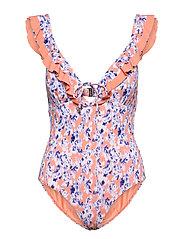 Izzy swimsuit - WATERCOLOR