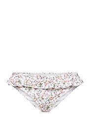 Lucie bikini bottom - FRENCH ROSE WHITE