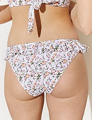 By Malina - Lucie bikini bottom - bikinibriefs - french rose white - 6