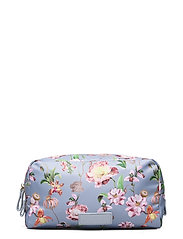 Travel cosmetics large - FRENCH ROSE SKY BLUE