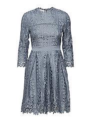 Ginger dress - DOVE BLUE