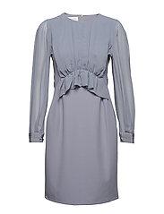 Faye dress - DOVE BLUE