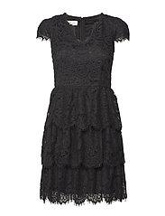 Peg dress - BLACK