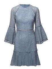 Ettie mini dress - COSTA BLUE