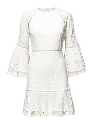 Ettie mini dress - WHITE