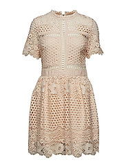 Flower Emily dress - CHAMPAGNE