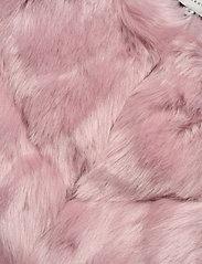 By Malina - Oria faux fur jacket - sztuczne futro - rosé - 4
