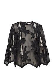 Hiba blouse - BLACK
