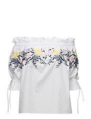 Ebony blouse - WHITE