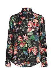 Phoebe blouse - BLACK BLOSSOM