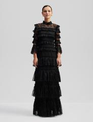 By Malina - Carmine maxi dress - avondjurken - black - 0