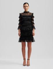 By Malina - Carmine mini dress - pitsimekot - black - 0