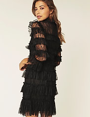 By Malina - Carmine mini dress - cocktailjurken - black - 5