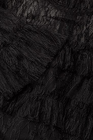 By Malina - Carmine mini dress - cocktailjurken - black - 3