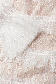 By Malina - Carmine mini dress - cocktailklänningar - cloudy white - 3