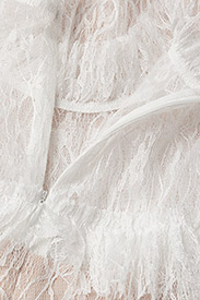 By Malina - Carmine mini dress - cocktailklänningar - cloudy white - 4