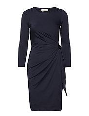 Darlene mini dress - DARK BLUE