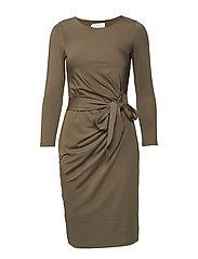 Darlene mini dress - KHAKI