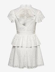 By Malina - Grace dress - korta klänningar - white - 2